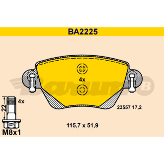 BARUM BA2225