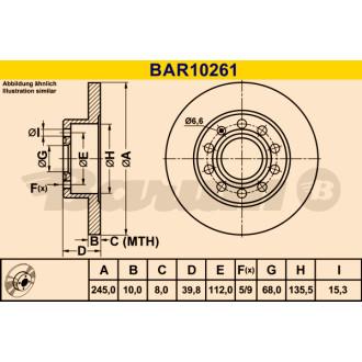 BARUM BAR10261