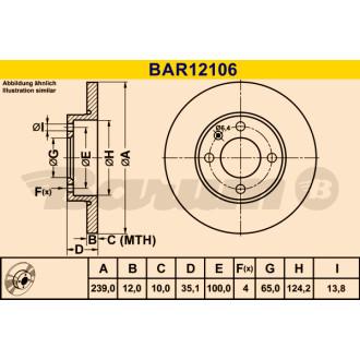 BARUM BAR12106