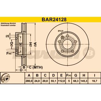 BARUM BAR24128