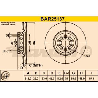 BARUM BAR25137