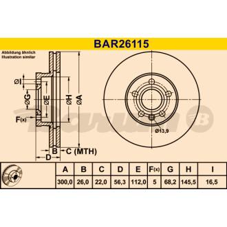 BARUM BAR26115