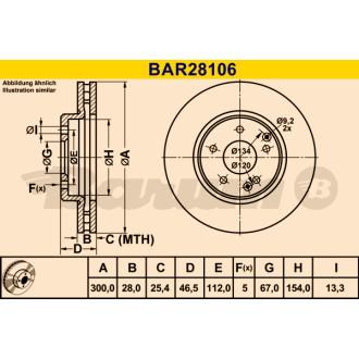BARUM BAR28106