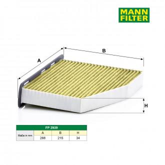mann filter fp 2939 filter innenraumluft kaufen. Black Bedroom Furniture Sets. Home Design Ideas