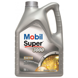 MOBIL M-SUP3000 X1 5W-40  5l (PE)
