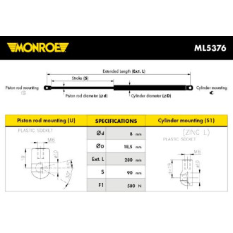 MONROE ML5376