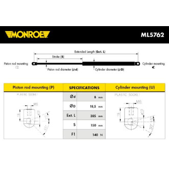 MONROE ML5762