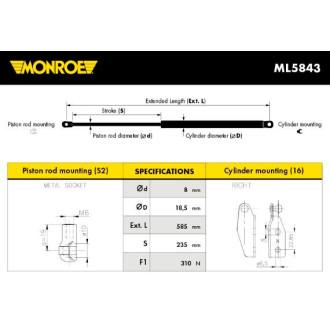 MONROE ML5843