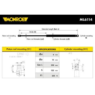 MONROE ML6114