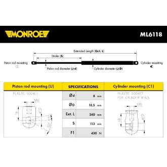 MONROE ML6118