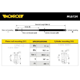 MONROE ML6134