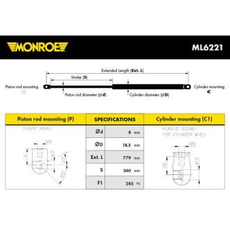 MONROE ML6221