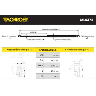 MONROE ML6375
