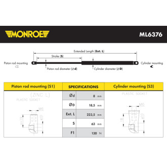 MONROE ML6376