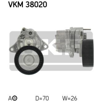 SKF VKM 38020