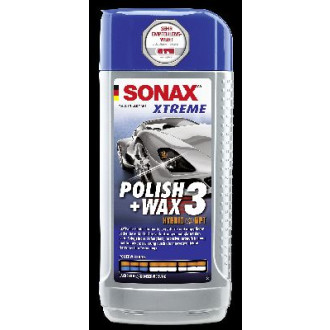 SONAX Xtreme Polish+Wax 3 NanoPro  500ml