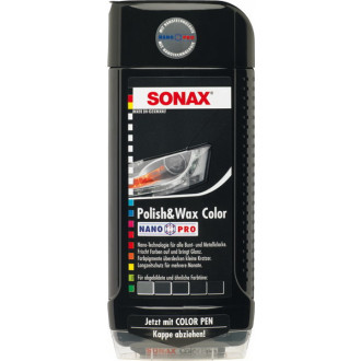 SONAX Polish & Wax Color Nano schw 500ml