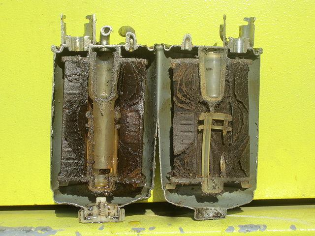 Verstopften Kraftstofffilter wechseln