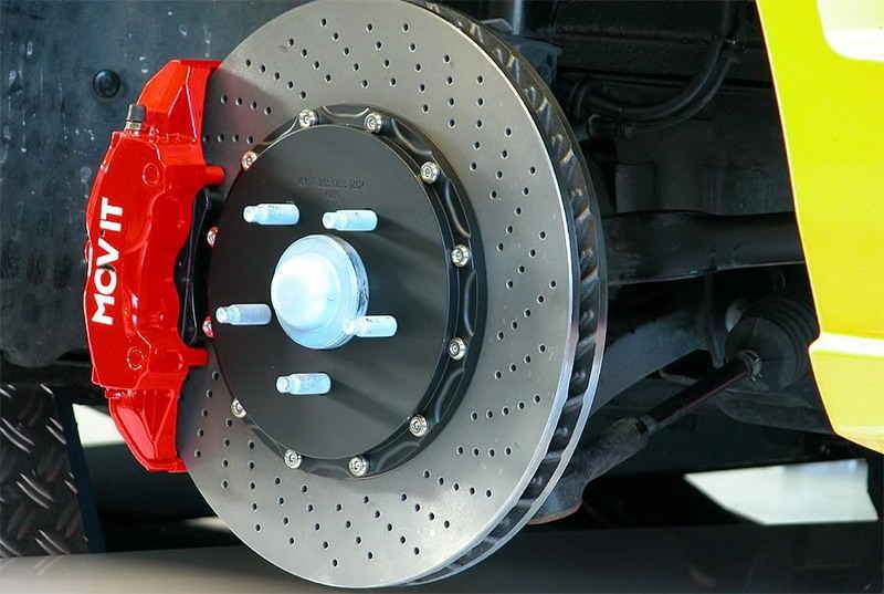 außenbelüftete Bremsscheiben für PKW